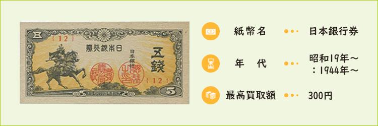 日本銀行券【昭和19年~:1944年~】